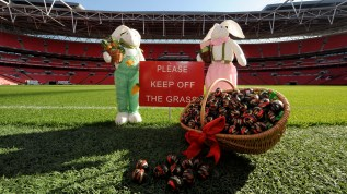 Easter spirit is coming to Wembley