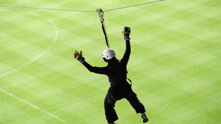 Take a Wembley Tour and zipwire over Wembley Stadium