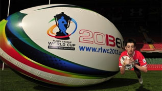 The Rugby League World Cup is coming to Wembley