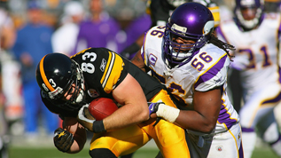 The Vikings will play the Steelers at Wembley in September 2013