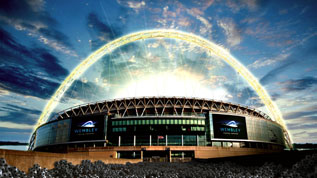 Wembley Goes Gold For The Olympics
