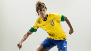 See Brazil's Neymar in action on Wednesday