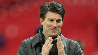 Michael Laudrup applauds his Swansea side at Wembley