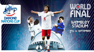 Danone Nations Cup at Wembley on 7 September