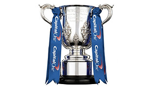 Who will lift the Capital One Cup at Wembley on Sunday?
