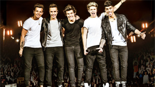 One Direction play live at Wembley on 6, 7 & 8 June 2014