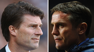 Swansea and Bradford managers Michael Laudrup and Phil Parkinson