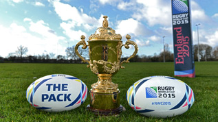 Join The Pack for Rugby World Cup 2015