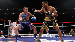 James DeGale fights George Groves in 2011