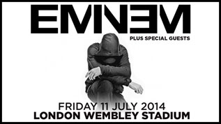 Eminem at Wembley