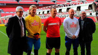 Savage and Shearer line up for their epic Sport Relief challenge