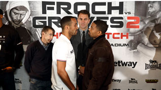 DeGale faces off against Gonzales