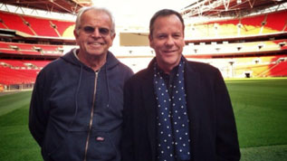 Kiefer Sutherland and William Devane