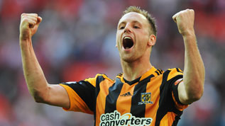David Meyler celebrates his record breaking goal