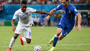 Sterling faces Italy in Brazil